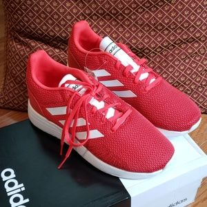 Adidas Red Athletic Gym Shoes